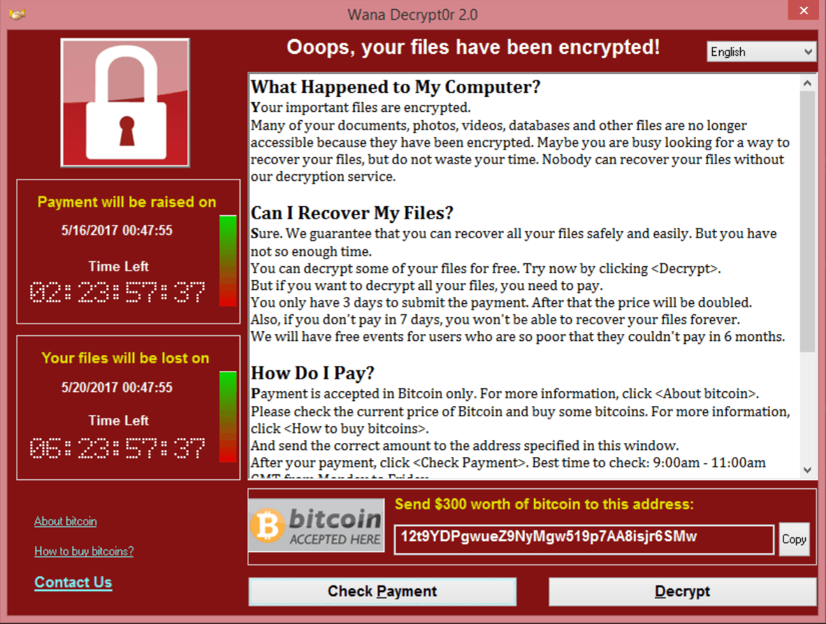 """""""WannaCry"""" Ransomware Takes the World Hostage"""