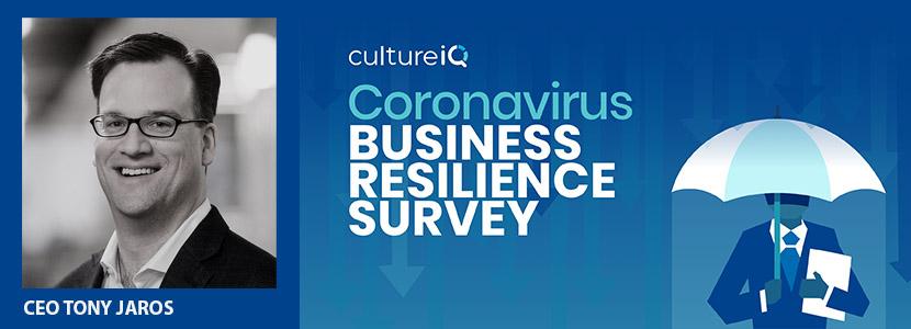 cultureiq business resilience survey CBRS