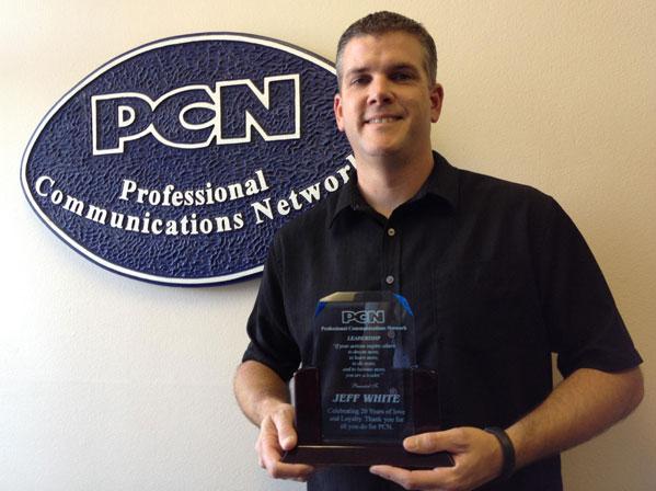 Jeff White celebrates 20 years at PCN