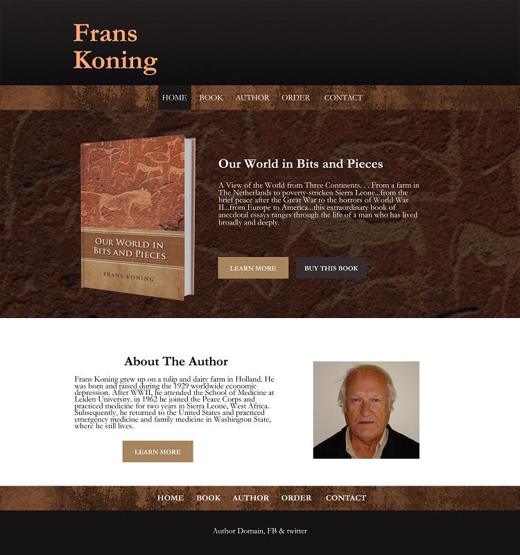 Frans Koning Website
