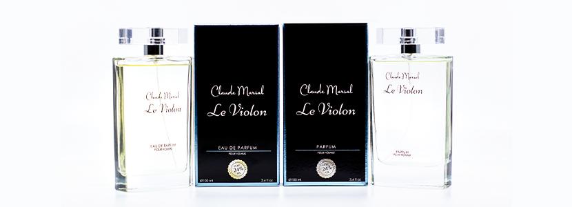 Le Violon Parfum and Eau de Parfum for Men Claude Marsal