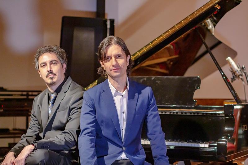 Composers Mauricio Charbonnier and Leonardo Le San