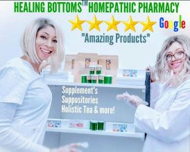 HEALING BOTTOMS™ HOMEOPATHIC PHARMACY ?DOCTOR & SURGEON RECOMMENDED ?#1 TREATMENT FOR BLEEDING F