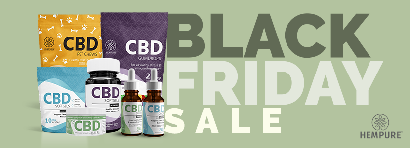 The Hempure CBD Black Friday Sale.