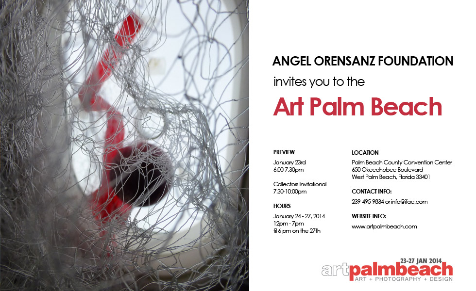 Art Palm Beach 2014 - Angel Orensanz