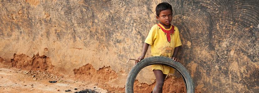 CHILDREN IN CRUSHING POVERTY