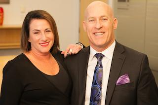 Christopher Phelan and Pamela Handler