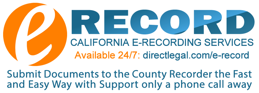 California e-recording services