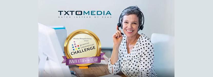 TXTOmedia wins Process Innovation Award