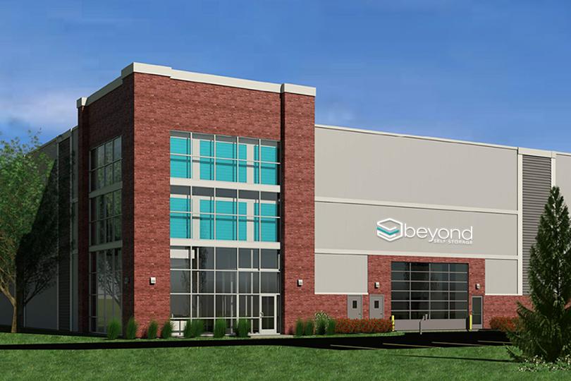 Pittsburgh, PA Beyond Self Storage Building Rendering