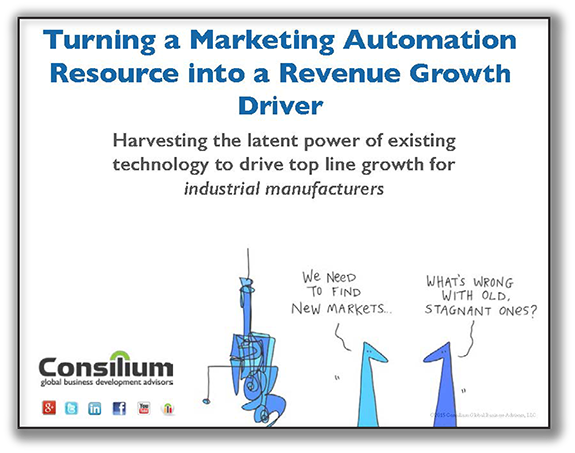 ebook provides tips on maximizing marketing automation for industrial marketing