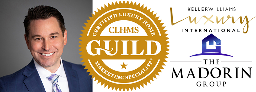 Kyle Madorin of The Madorin Group at Keller Williams receives luxury GUILD recognition