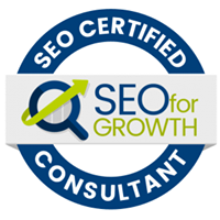 SEO for Growth Certified Consultant Badge